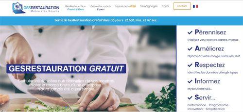 Le 6 Octobre 2020 - www.gesrestauration.com fait peau neuve.