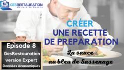 Créer une préparation - La sauce au bleu de Sassenage - Episode 8 /11 - VIDEO