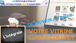 MysolutionsWEB - Découvrir, Utiliser votre vitrine Click and Collect - L'intégrale - VIDEO